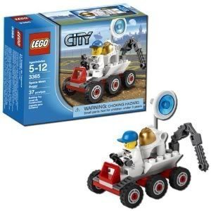 Toy / Game Wonderful LEGO Space Moon Buggy 3365 With Astronaut In Spacesuit, Digging Tool And Satellite Dish by - Satellite Tool