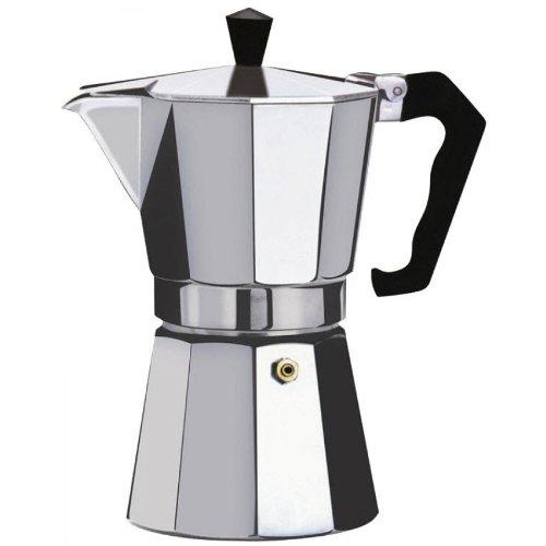 Kabalo 350ml (6-cup) Espresso Stove Top Coffee Maker - Continental Moka Percolator Pot Aluminium by Kabalo