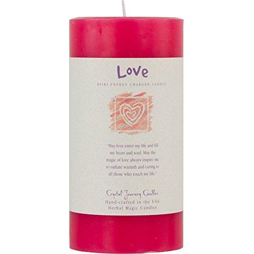 Love Pillar Candle - 6