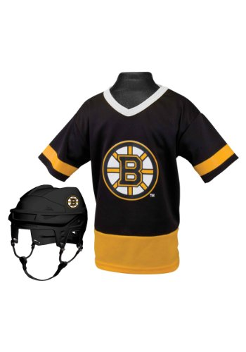 Franklin Sports NHL Boston Bruins Youth Team Set (Kids Nhl Boston Bruins Uniform Set)