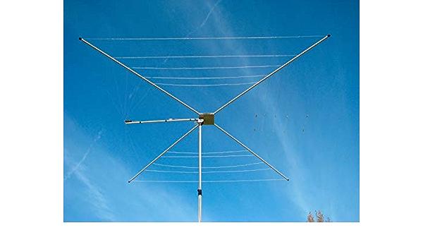 MFJ-1836 Antena de 6 Bandas 20-6M HF 1/2 Onda Cobweb, Mangos ...