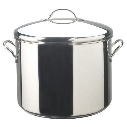 - Farberware Classic Stainless Steel 16-Quart Covered Stockpot