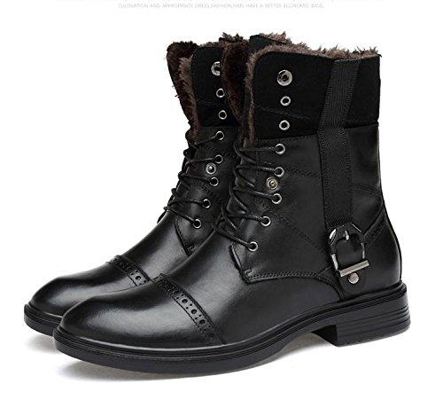 la ainsi taille la augmenter black pour givr¨¦e d'hiver pour que tendance pour de Bottes l'engrais de chaussures 45 la hommes jeunesse de coton xwIZPnOBqY