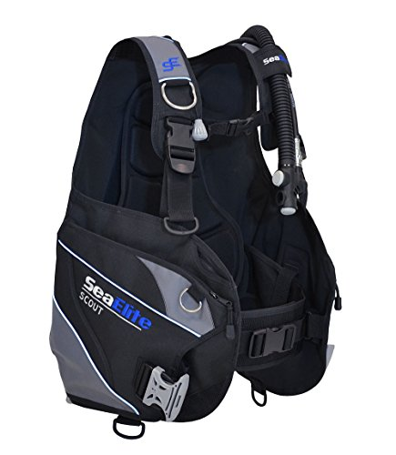 Scuba BCD with Integrated Weight System Scout (Medium)