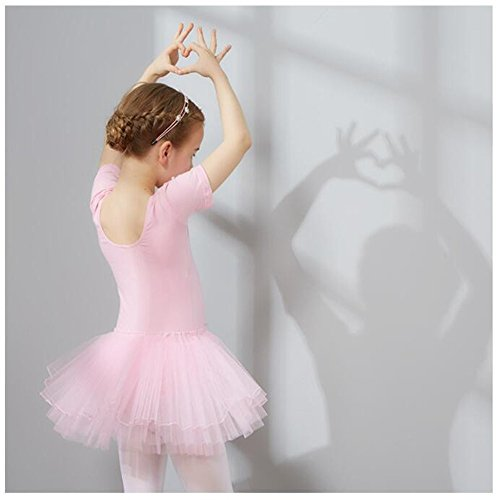 training dance Children and dance costume dress Pink ballet for dresses clothing children Costumes for Children's performance Dance dancing girls FXwx4qwzn