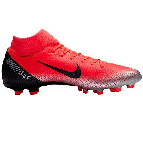 6 600 Scarpe Calcio bright Crimson Academy chrome Cr7 da Superfly Mg Nike Da black Rot Uomo Bwqn5X