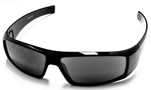 Wrap Around Sun Reader Reading Glasses, 1.00, Black