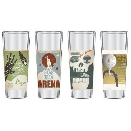 Star Trek: Original Series - Fine Art Shot Glass 4-Piece