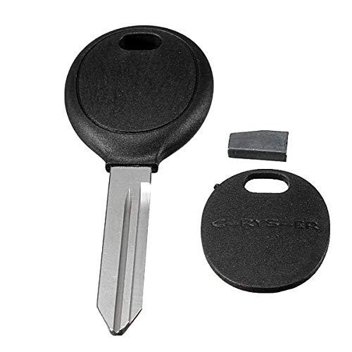 Ignition Transponder Key With Uncut Blade For Dodge Chrysler Jeep