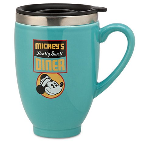 Disney Mickey Mouse - Mickey's Diner Travel Mug