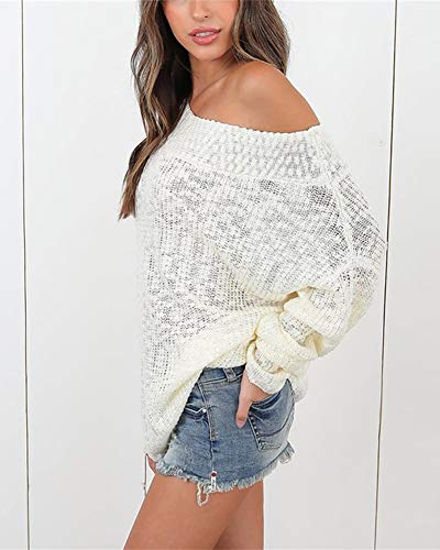 ZiXing Oversize Grosse Pull Fille Maille Femme Chaud Hiver Pull Ado aqaRr