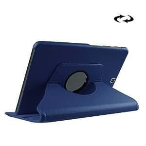 Litchi Texture 360° Rotation Leather Funda Case Cover + Lápiz GRATIS con Holder para Samsung Galaxy Tab S29.7/T815/T810(Dark Blue)