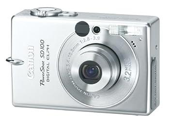 ed76a2e5bf2 Amazon.com : Canon PowerShot SD100 3.2MP Digital ELPH Camera w/ 2x ...