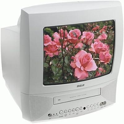 RCA T13072 Combo de TV/VCR de 13 pulgadas, color blanco: Amazon.es: Electrónica