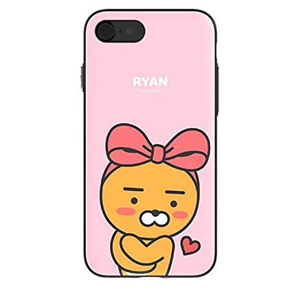 new concept d6e42 184ec Amazon.com: Kakao Friends iPhone case kakaofriends Ryan Apeach Neo ...