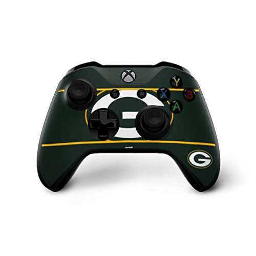 Green Bay Packers Xbox One X Controller Skin - Green Bay Packers Zone Block | NFL X Skinit Skin from Skinit