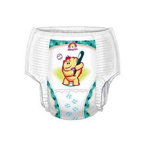 Medtronics - Curity Runarounds Boy Training Pants Medium 18-34 lbs., 2T-3T Pediatric Training Pants - ()