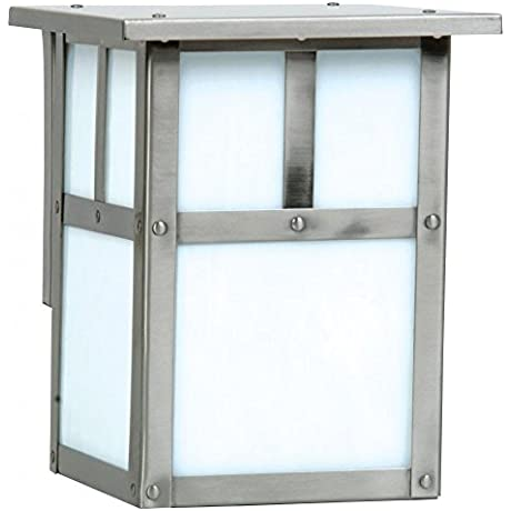 Craftmade Z1842 56 Wall Lantern With Frosted Glass Shades Nickel Finish