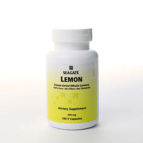 Seagate Products Whole Lemon Concentrate Supplements 450 mg 100 Capsules Discount