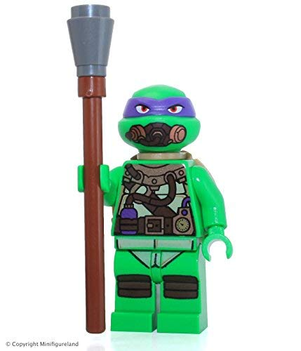 with LEGO Teenage Mutant Ninja Turtles design