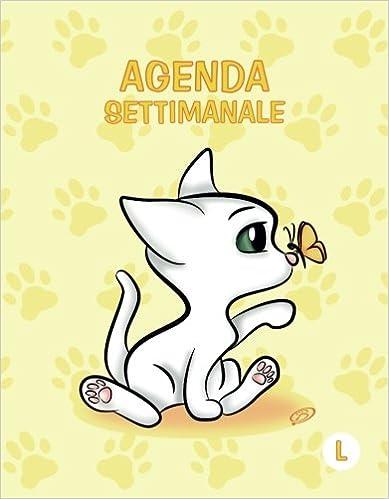 Agenda settimanale - L: Giallo - Gatti - Perpetua (Senza ...