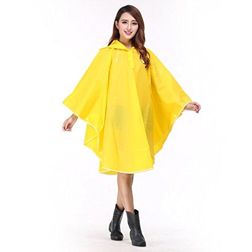 De Poncho Voyage Femmes Imperméables Raincoat Imperméable Pour Adulte couleur Mode Tendance D Randonnée Belle Slim E Transparent EvYxRPqxw