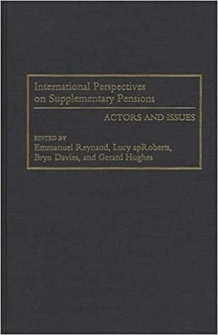 Book International Perspectives on Supplementary Pensions: Actors and Issues