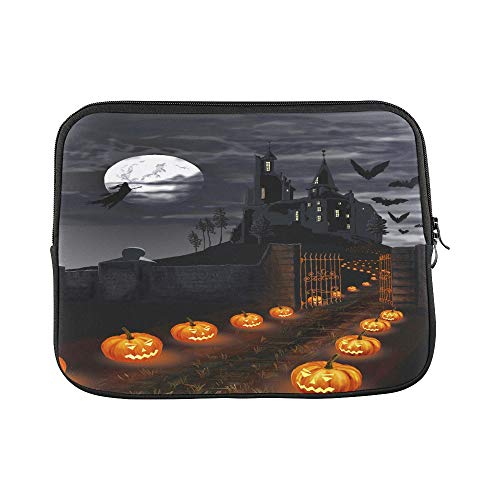 Design Custom Illustration On A Theme of A Holiday Halloween Sleeve Soft Laptop Case Bag Pouch Skin for MacBook Air 11