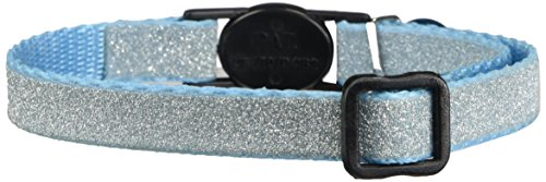 East Side Collection 3/8-Inch Nylon Glitz Cat Collar, (East Side Collection Cat Collar)