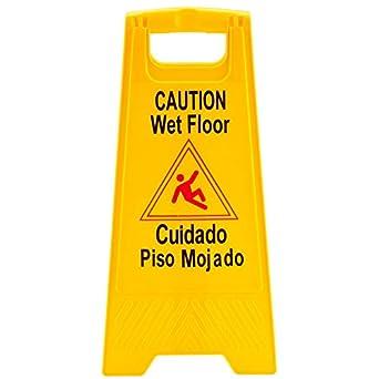 Amazon.com: Caution Wet Floor Sign: Industrial & Scientific