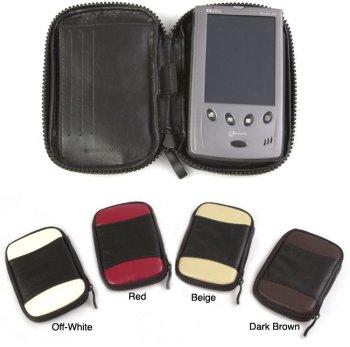 Amerileather Multicolored Leather Handheld Case - Leather Apc Case