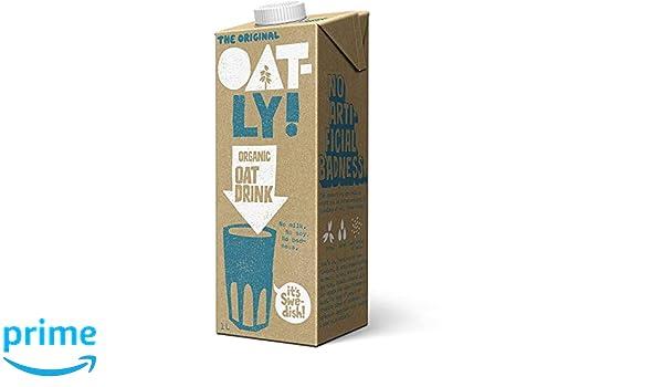 Oatly - Organic Oat Drink - 1L (Case of 6): Amazon.es: Salud y cuidado personal