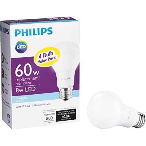 led light bulbs 4 pack - 6