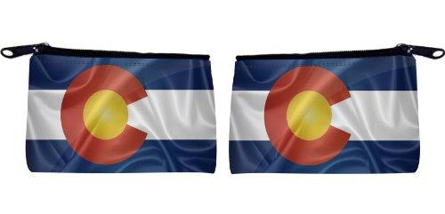 Rikki Knight Colorado State Flag Design Scuba Foam Coin Purs