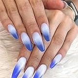 Gershion Poly Nail Extension Gel Blue 60ML 2.02oz