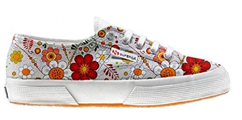 Superga Customized Chaussures Coutume Floral Paisley (produit artisanal)
