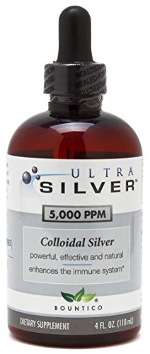 Ultra Silver Colloidal Silver 5000 PPM - 4 Oz