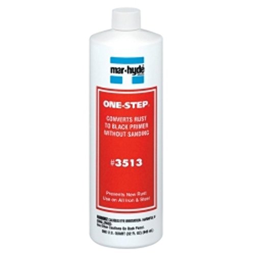 3M 35132 Mar-Hyde 3513 One-Step Rust Converter Primer Sealer, 1 Quart