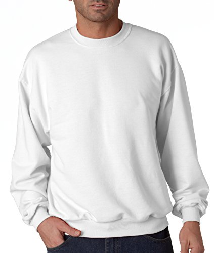 Plain Crewneck Sweatshirt (Jerzees Men's NuBlend Crew Neck Sweatshirt medium)