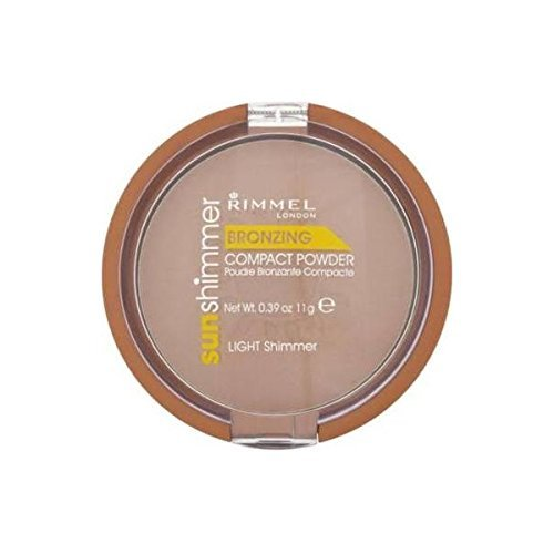 Rimmel London Sunshimmer Bronzing Compact Powder - Light Shimmer 11g