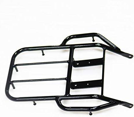 Black Rear Tool Luggage Rack Back Bracket Cargo Carrier For Honda XR250 XR400 1996-2004