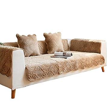 YXDDG Sofá Cubre Protector Reversible Acolchado Protector de los Muebles Acolchados reposabrazos seccional sofá Fundas Lavables a máquina, Tiro Funda para ...