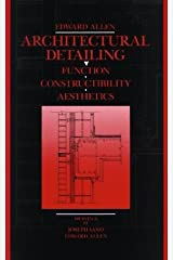 Architectural Detailing: Function, Constructibility, Aesthetics Hardcover