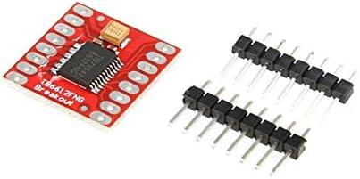 fengzong TB6612FNG Dual-DC-Schrittmotorsteuerungsantrieb Erweiterungsschildplatinenmodul für Arduino-Mikrocontroller Besser als L298N (rot)