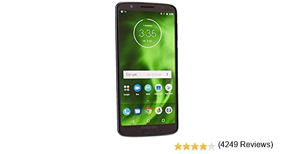"Motorola Moto G6 XT1925-2 32GB 5.7"" Dual SIM 4G LTE Factory Unlocked Smartphone, Deep Indigo (International Version)"