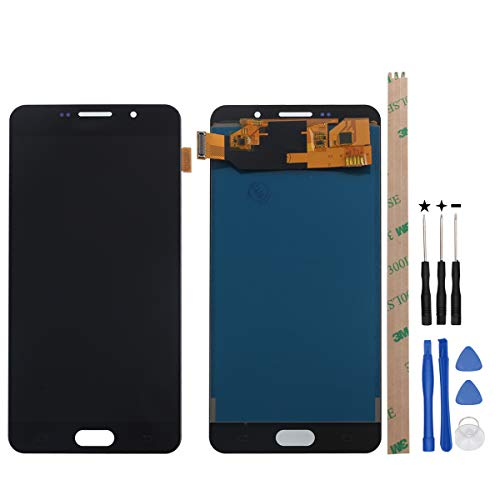 HYYT Replacement for Samsung Galaxy A7 2016 A710 A710F LCD Digitizer Screen and Touch Screen Assembly + Free Tools