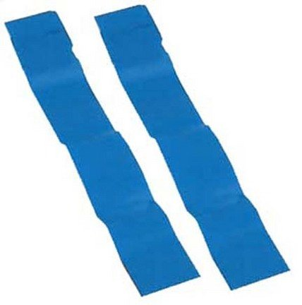 Olympia Sports Replacement Blue Flag Football Flags - 3 Sets of 12 Pairs (36 Pair Total)
