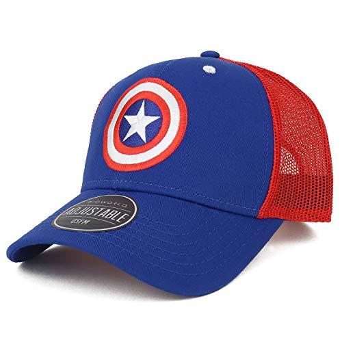 Compare Price Captain America Baseball Hat On