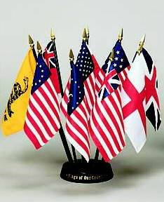 Flags of our Country 10 Flag Set 3 ft. x 5 ft.