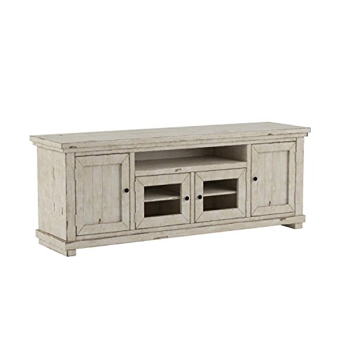 Progressive Furniture Willow 74' Console, Distressed White